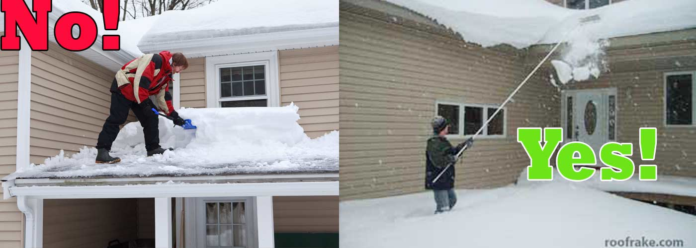 Shoveling Snow From Your Roof