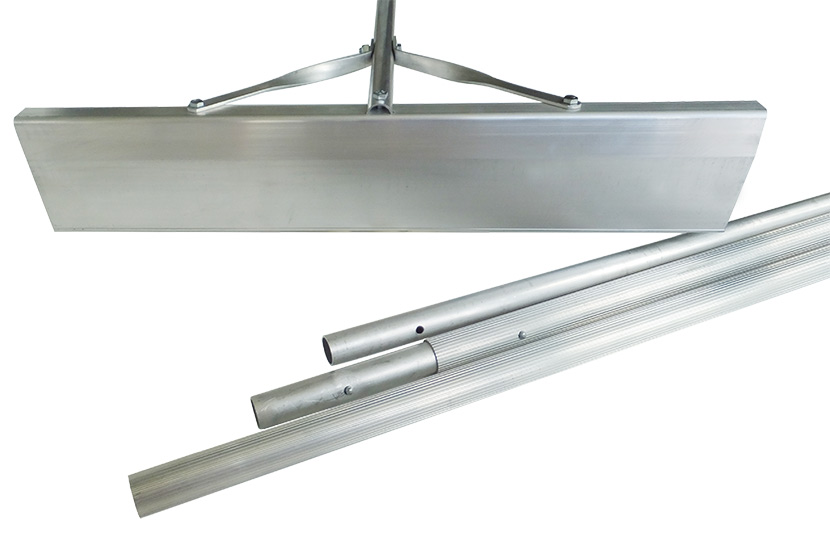 Rugged Roof Rake Roof Snow Removal Tool