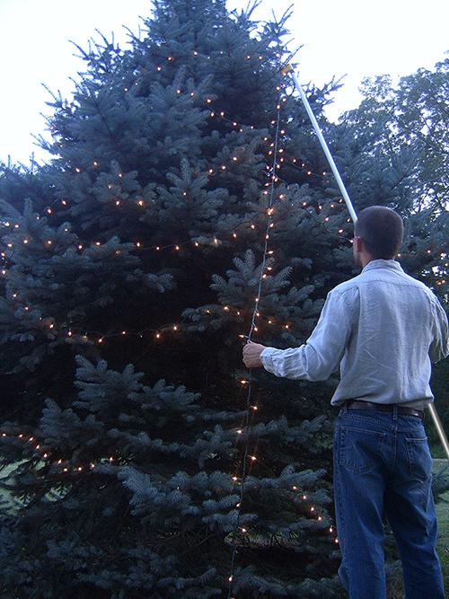 Handy Hook; Handy Hook; Christmas light pole hanger ... - The Best Christmas Light Hanging Pole